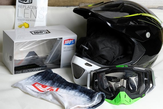 Specialized Helm und Goggle