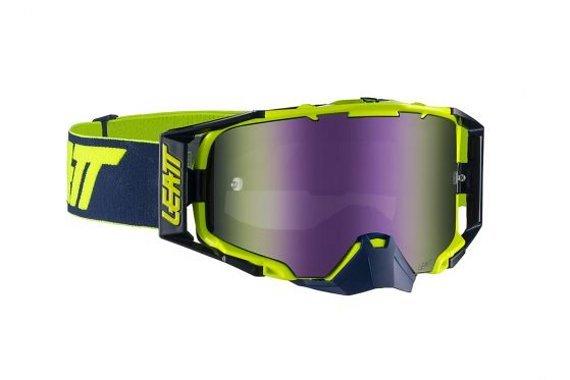 Leatt Velocity 6.5 Iriz Goggle Ink/Lime Purple 30%