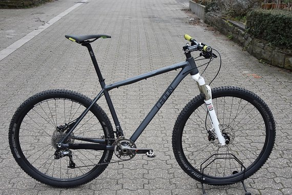 Radon ZR Race 29 Hardtail mit Rock Shox SID