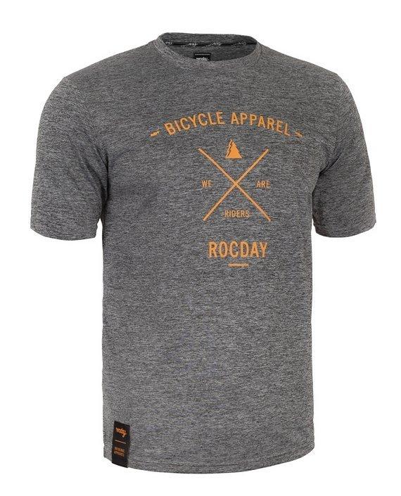 Rocday ELEMENT jersey SANITIZED® Melange/Tan, Gr. XL