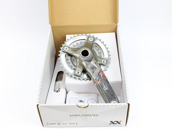 Truvativ XX 39/26 Zähne GXP Carbon Kurbel //NEU// Sram BCD120 175mm Q166 BSA OVP