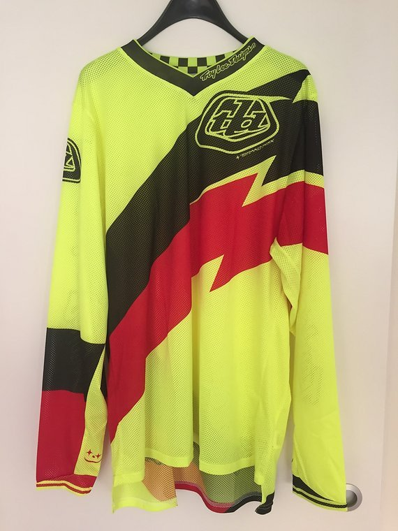 Troy Lee Designs Langarm Jersey Gr. XL