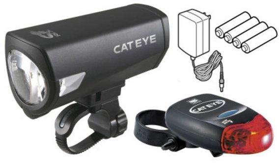 Cateye Beleuchtungskit Econom Force MFK HL-EL540RCG + TL-LD260G StVZO Zulassung