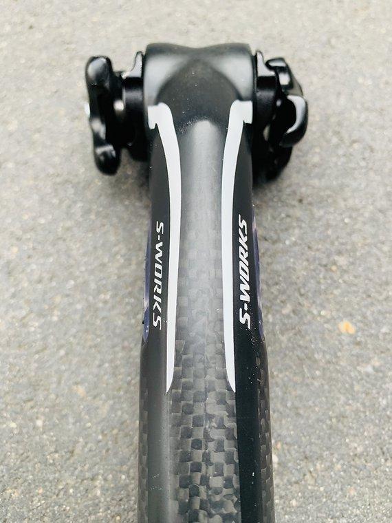 Specialized S-Works Zertz Carbon Sattelstütze 27,2mm