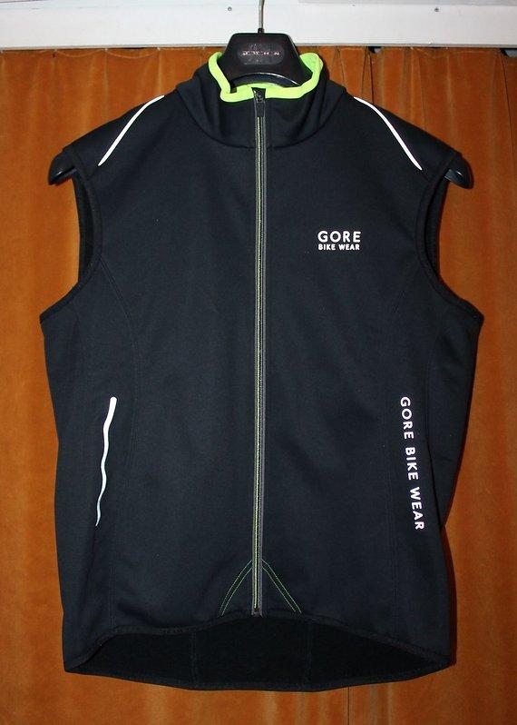 Gore Bike Wear Soft Shell Wind Stopper Thermo Weste VPOWER - Gr. XL - neu