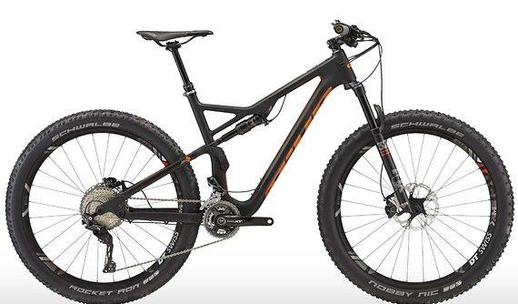 Bixs Kauai 120 Full Suspension Carbon 27.5+ Bike UVP 49