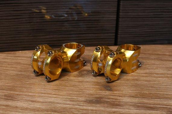 "Reverse Components S-Trail Vorbau gold 1 1/8"" GOLD 60mm *NEU*"