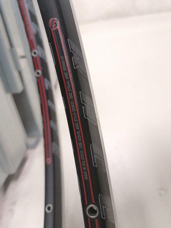 Bontrager Paar Racelite Felgen, 700cc, 20 Loch