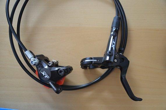 Shimano Bremsset mit Scheiben und Adapter
