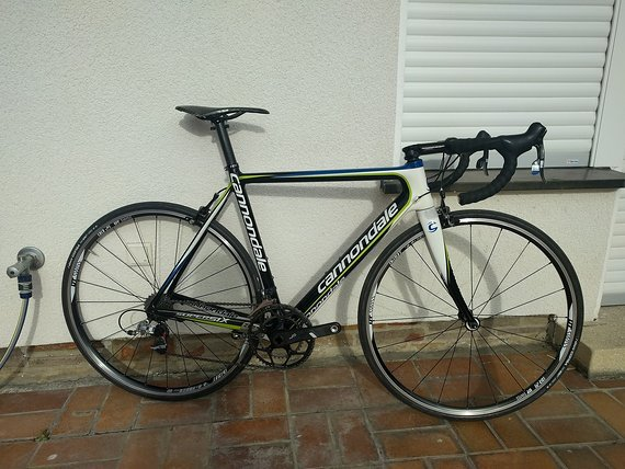Cannondale Supersix Sram Red, Force, DT Swiss Dicut, Thomson Gr. 54