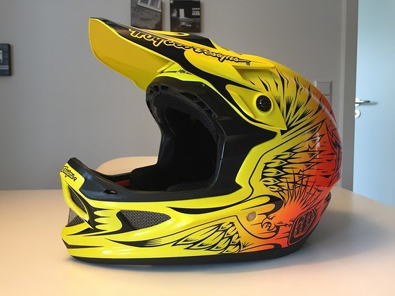 Troy Lee Designs D3 Composite MIPS gelb/orange
