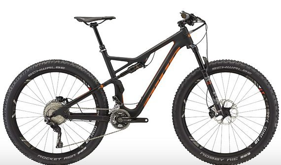 Bixs Kauai 120 Full Suspension Carbon 27.5+ Bike UVP 4999