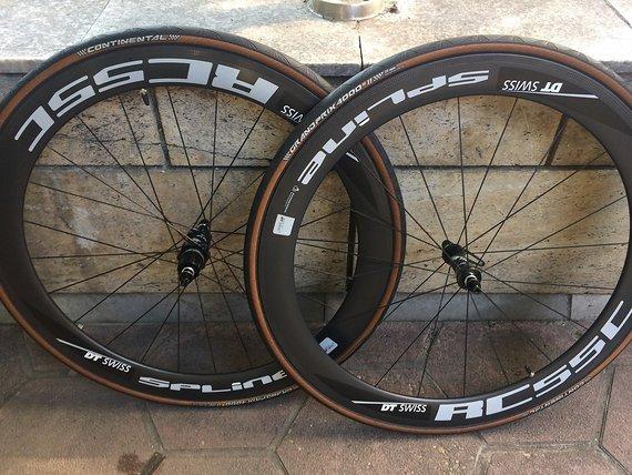 Dt Swiss Rc55C carbon road wheels