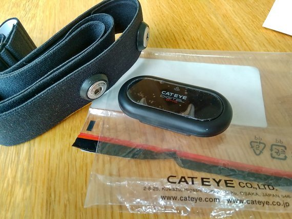 Cateye Herzfrequenz-Sensor Pulsgurt Garmin Polar