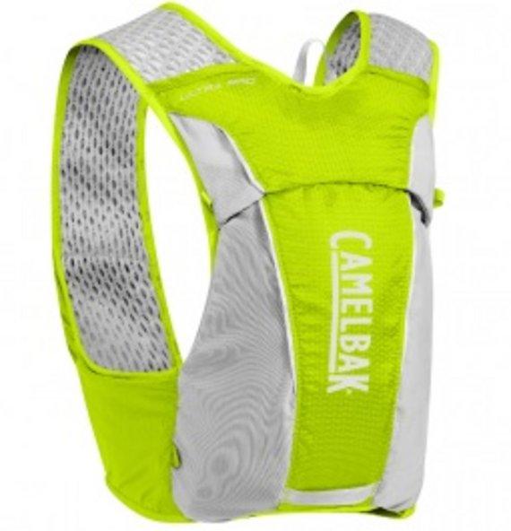Camelbak Ultra Pro Vest Lime Punch Silver L Trinkweste Neu