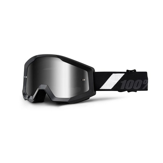100% Brille Goggle Strata Goliath - Mirror Silver Lens