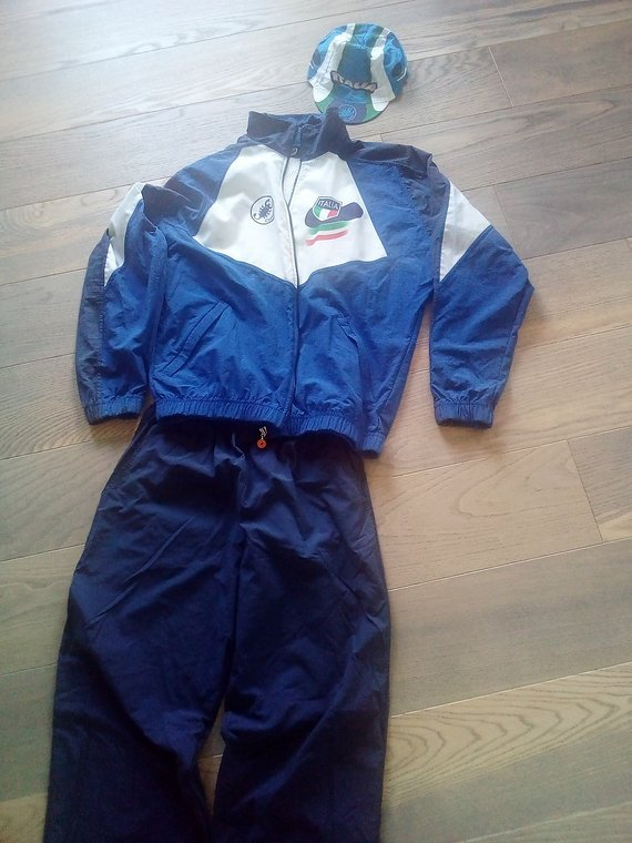 Rarität Castelli Trainingsanzug MTB Nationalmannschaft Italia 1997 Gr M