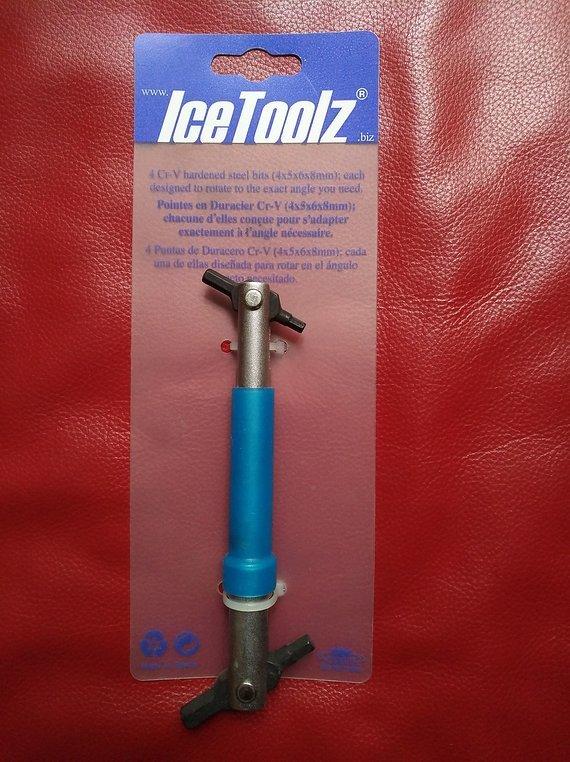 Icetoolz Inbusschlüssel CR-V Inbusschlüßelset (4-5-6-8mm)