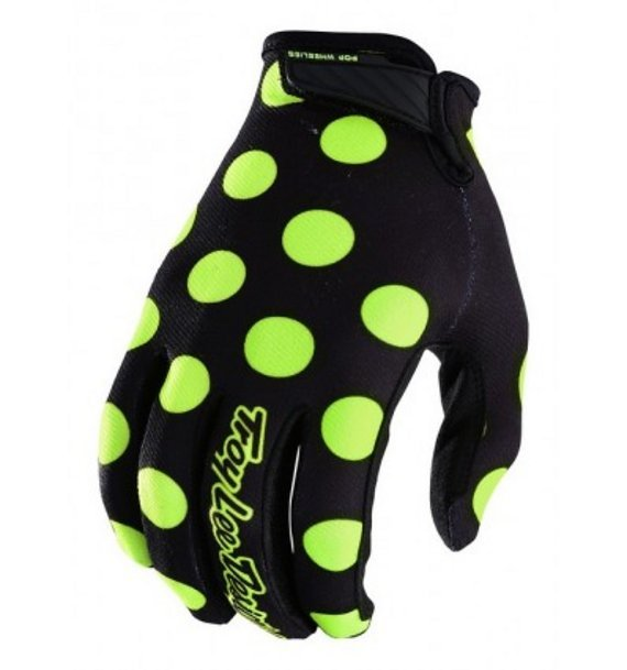 Troy Lee Designs Air Gloves Handschuhe Polka L YOUTH *NEU*