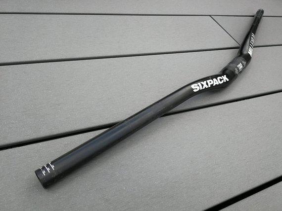 Sixpack Millenium Carbon Lenker 785 mm, 231 g, 18 mm Rise, 31,8mm