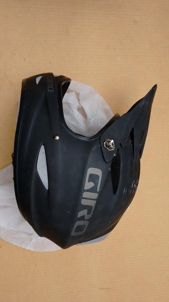 Giro Remedy Fullface Helm M schwarz matt
