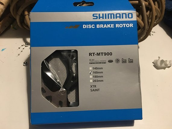 Shimano RT-MT900 160mm Bremsscheibe