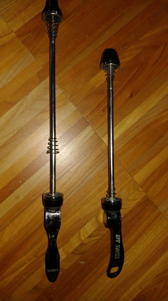 DT Swiss Schnellspanner Set VR 100mm / HR 135mm