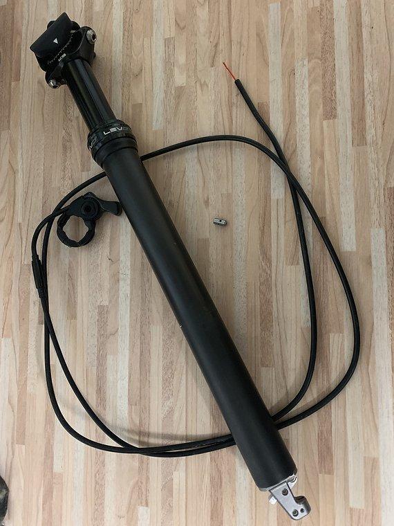 Kind Shock LEV Ci Carbon Vario Sattelstütze 65mm/30,9mm/31,6mm
