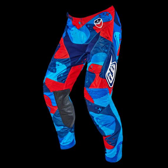 Troy Lee Designs SE Air Pant Cosmic Camo Blue Gr. 34 *NEU*