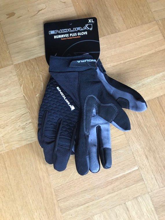 Endura Humvee Plus Glove XL Schwarz, Handschuhe, NEU
