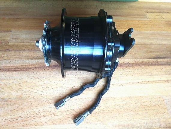 Rohloff Speedhub 500/14 CC DB OEM2 Black Disc Nabenschaltung