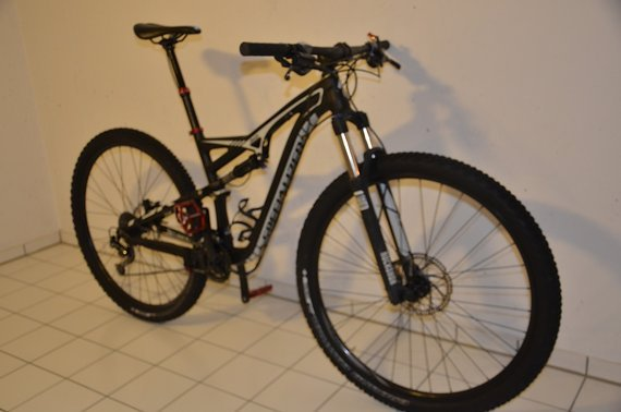 Specialized Camber FSR 29 - black/dirty white - M