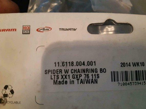 SRAM Spider