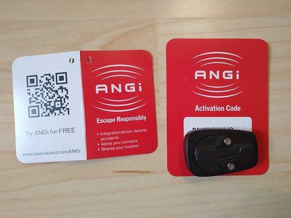 Specialized Angi Helm Crash Sensor, NEU, Gratis-App