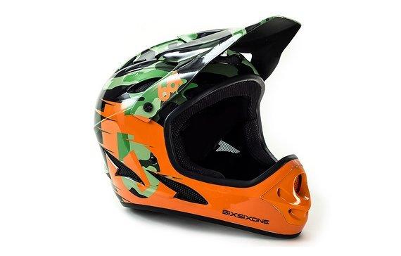 661 SixSixOne Comp Shifted Fullface Helm Gr. XL *NEU*
