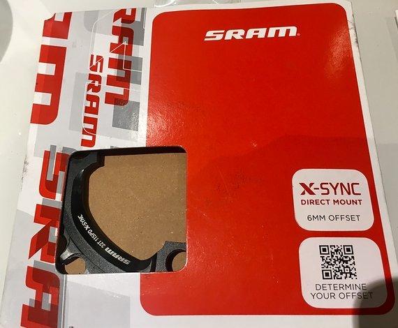 SRAM und 32t 6mm Offset Kettenblatt SRAM GXP