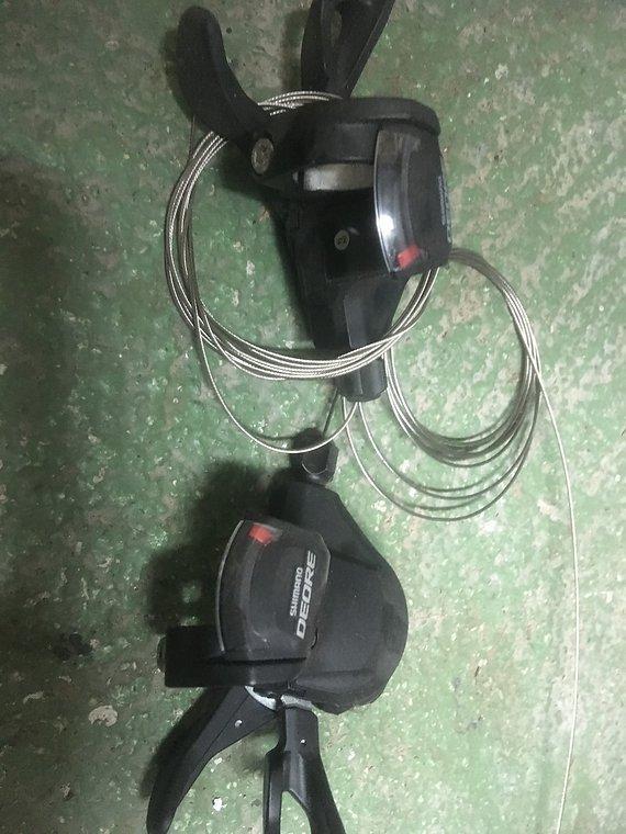 Shimano SL-M610 Schalthebel 2/3x10 fach