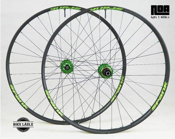 "Spank 350 / 27,5"" / 29"" / Laufradsatz mit Noa-BL-Evo-3 Naben / Tubeless Ready inkl Ventile / Bike-Lädle Laufradbau / Noahubs"