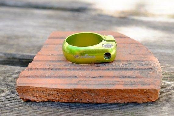 Salsa Lip Lock Satteklemme 35mm, giftgrün