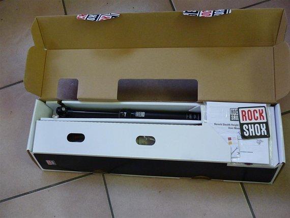 RockShox Reverb Stealth 125mm, 30,9mm, 420mm, links !!PREISUPDATE!!