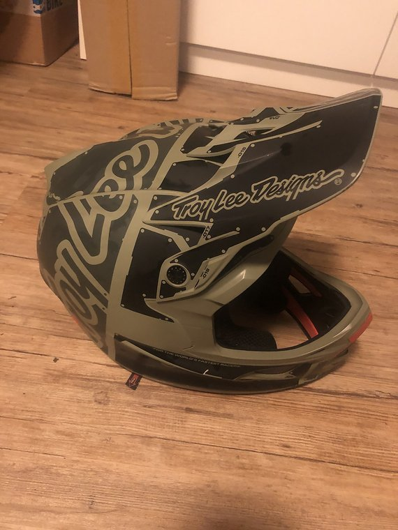 Troy Lee Designs D3 Fullface Helm XL