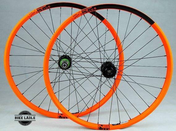 """NS Bikes Enigma 26""""/650b Laufradsatz mit Hope Pro 4 Evo Naben"""