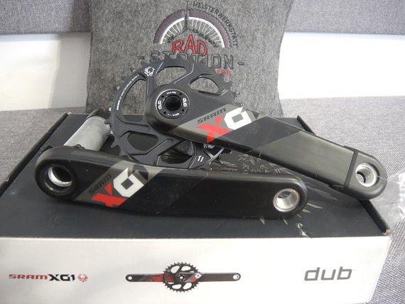 SRAM X01 Eagle Boost Dub 175mm 32Z red