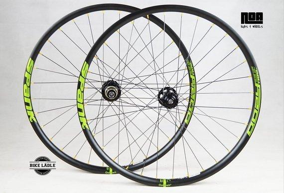 "Spank Oozy 295 / 27,5 / 29"" / Laufradsatz mit Noa 120 Klicks Nabe / Bike-Lädle Laufradbau / Noahubs"