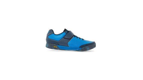Giro Chamber II Dirt MTB Fahrrad Schuhe blau 2019