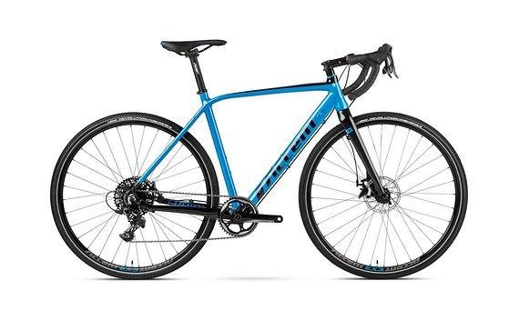 Accent Gravel Bike Furious, Blau