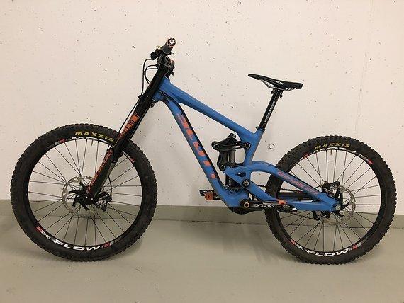"Scott Gambler 10 2013 Custom Größe M 26"" Downhill Mountainbike DH MTB"