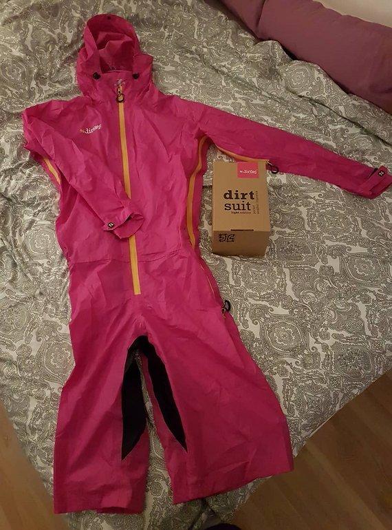 Dirtlej DirtSuit light Edition | Einteiler pink Neu, ungetragen - Größe XXL
