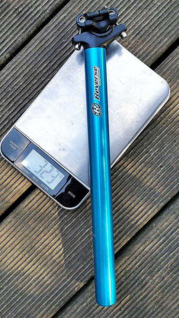 Reverse Components sattelstütze in blau, 27.2mm, NEU !!