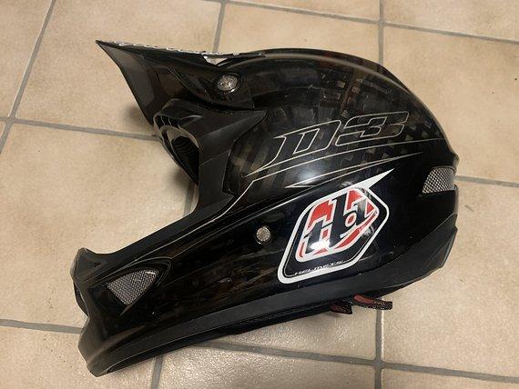 Troy Lee Designs Fullface D3 Helm XL